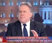 Σημεία από συμμετοχή Υπουργού Εξωτερικών, Γ. Κατρούγκαλου, σε συζήτηση στην εκπομπή «Η Επόμενη Μέρα» του τ/σ ΕΡΤ 1 και στον δ/φο Σεραφείμ Κοτρώτσο (22.04.2019)