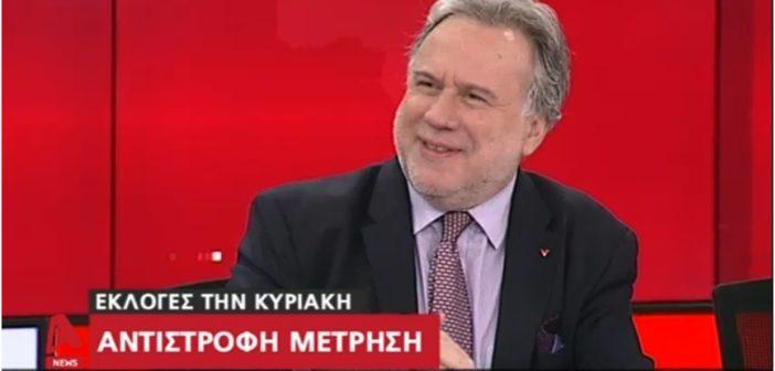 Ο Γιώργος Κατρούγκαλος στο κεντρικό δελτίο ειδήσεων του ALPHA, 3-7-2019