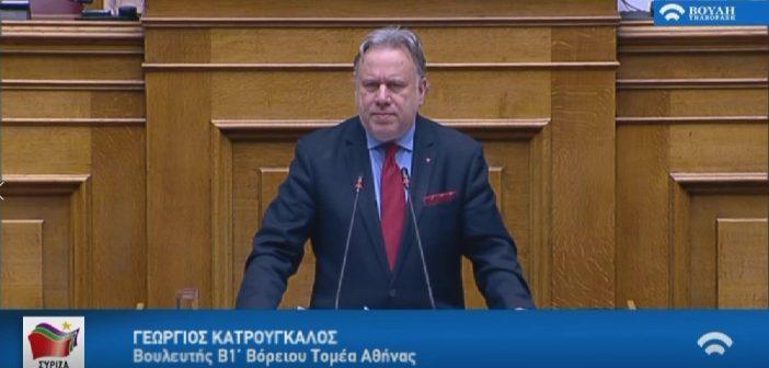 Ομιλία Γιώργου Κατρούγκαλου στην Ολομέλεια  της Βουλής για την ψήφο των αποδήμων, 11-12-2019